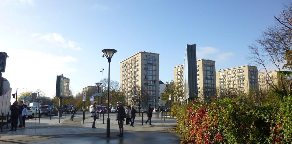 jardin porte de vincennes ... Avenue de la Porte de Vincennes ...