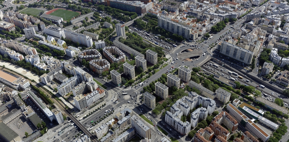 jardin porte de vincennes Vue aérienne de la Porte de Vincennes - juin 2017